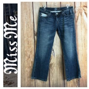 💸Miss Me JP4507 Crop denim jean in size 30